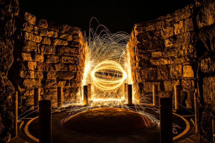 Creating epic photos with wire wool