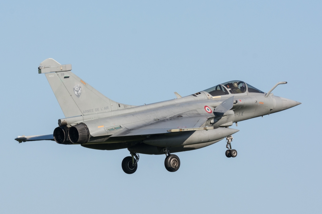 French Air Force Dassault Rafale [4-1X] @ RAF Leeming