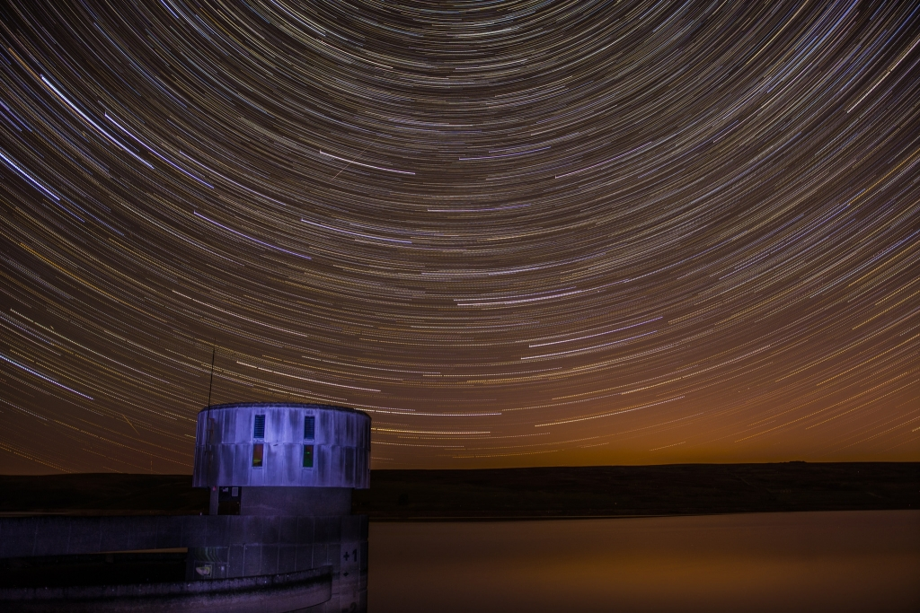 Grimwith Reservoir Stars - North Yorkshire