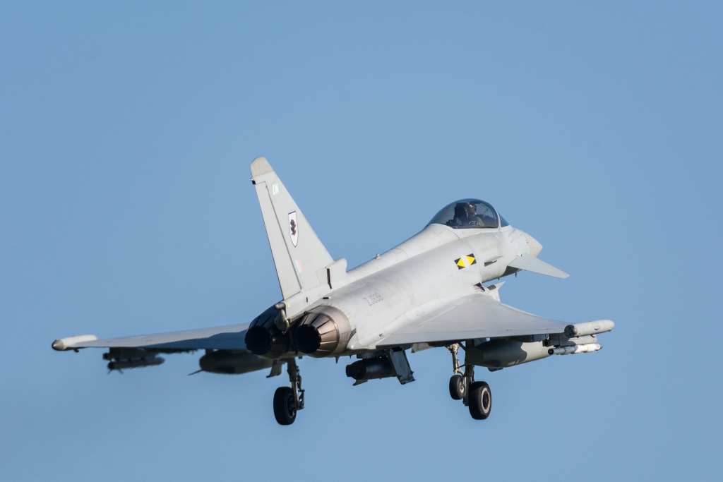RAF Eurofighter Typhoon [ZJ939] @ RAF Leeming