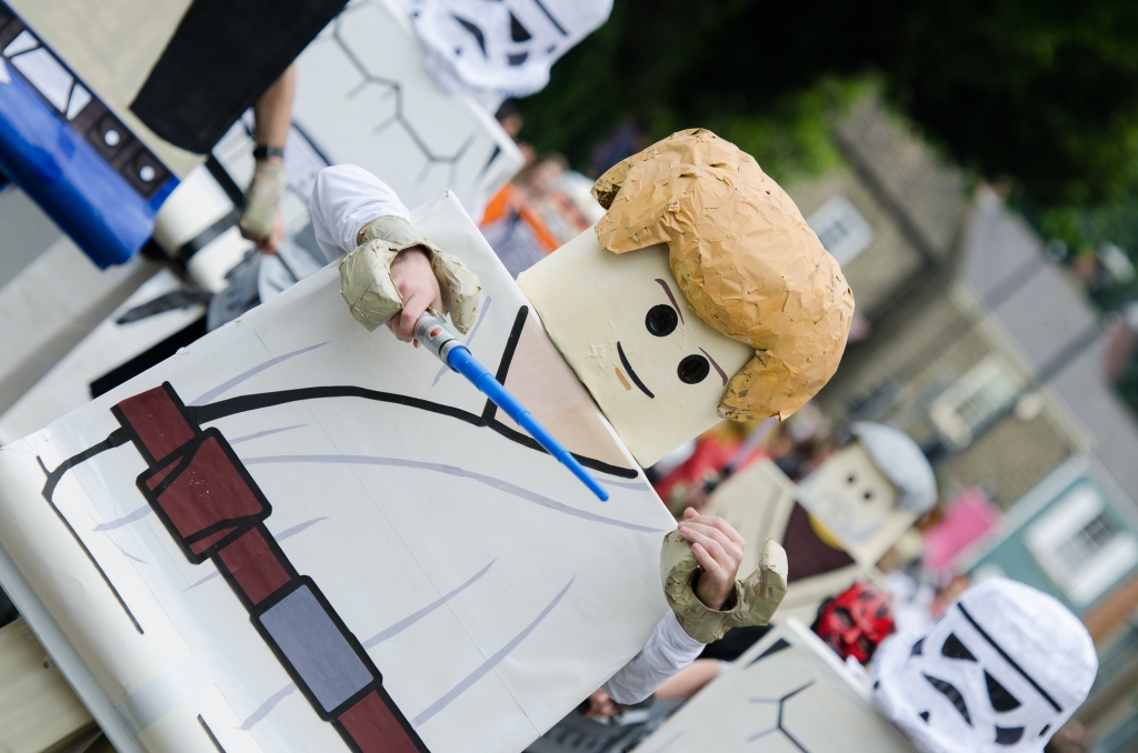 Knaresborough Bed Race 2015