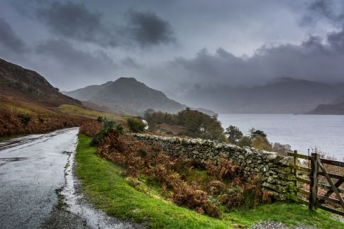 Crummock Water Road - Lake District