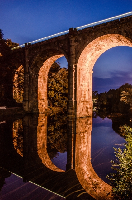 Knaresborough Viaduct Evening - North Yorkshire